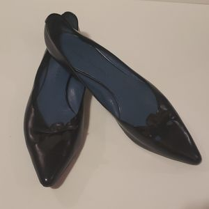 MARC JACOBS Pointed Toe Flats With Bow size 40